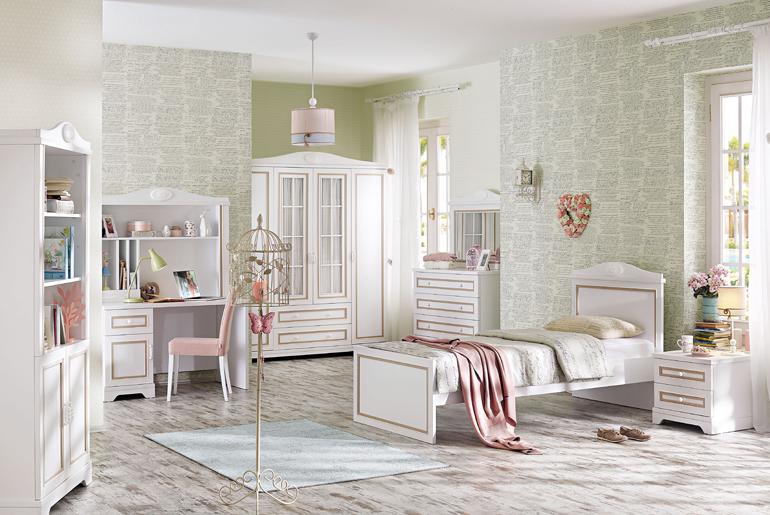 b58b2901015 Ιδέες για ένα Ρομαντικό Κοριτσίστικο Υπνοδωμάτιο! – Blog – Polihome.gr